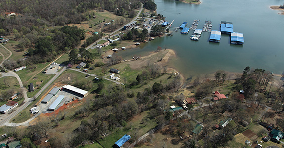 Boat Storage on Watts Bar Lake
